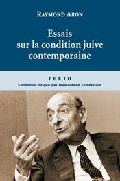 Essais sur la condition juive contemporaine - Intérieur - Format classique