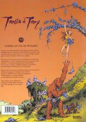 Trolls de Troy t.3 ; comme un vol de Pétaures - 4ème de couverture - Format classique