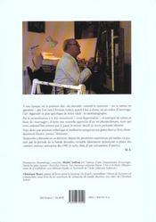 Christian Letoct, Les Coulisses Du Regard - 4ème de couverture - Format classique