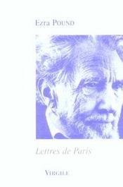 Lettres de Paris - Intérieur - Format classique