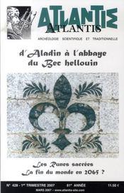 Revue Atlantis N.428 ; D'Aladin A L'Abbaye Du Bec Hellouin ; Les Runes - Intérieur - Format classique