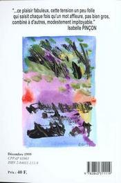 Revue Decharge N.104 ; Décembre 1999 - 4ème de couverture - Format classique