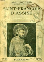 Saint Francois D'Assise. Collection : Les Bonnes Lectures. - Couverture - Format classique
