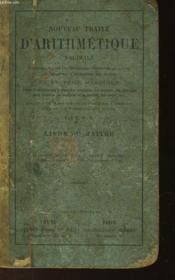 Nouveau Traite D'Arithmetique Decimale - Livre Du Maitre - Couverture - Format classique