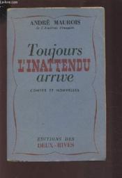 Toujours L'Inattendu Arrive - Contes Et Nouvelles. - Couverture - Format classique