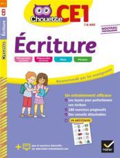 Chouette entraînement ; écriture ; CE1 - Couverture - Format classique