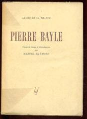 Pierre Bayle - Couverture - Format classique