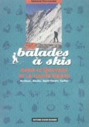 52 balades à skis dans le Queyras et la haute Ubaye - Couverture - Format classique