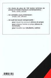 La Version Allemande Systematique - 4ème de couverture - Format classique