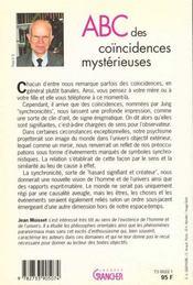 Abc Des Coincidences Mysterieuses - 4ème de couverture - Format classique