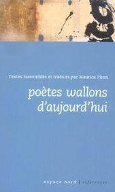 Poètes wallons d'aujourd'hui - Intérieur - Format classique