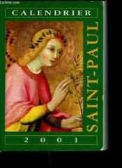 Calendrier Saint Paul 2001 ; Livret - Couverture - Format classique