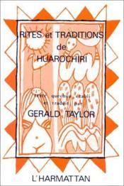 Rites et traditions de Huarochiri - Couverture - Format classique