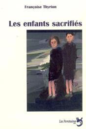Les enfants sacrifiés - Couverture - Format classique
