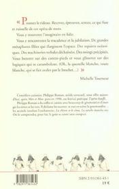 L'opéra-bouffe ; les dits de comus - 4ème de couverture - Format classique