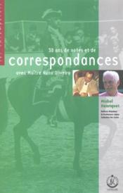 Correspondance oliveira - Couverture - Format classique