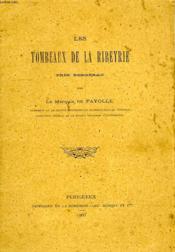 Les Tombeaux De La Ribeyrie, Pres Bergerac - Couverture - Format classique