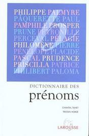Dictionnaire des prenoms - Intérieur - Format classique