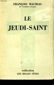 Le Jeudi Saint. - Couverture - Format classique