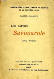 Cahier De La Quinzaine, Mars 1906, Les Vaincus, Savonarole, 5 Actes - Couverture - Format classique