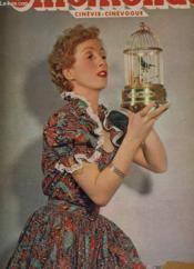 CINEMONDE - 19e ANNEE - N° 863 - DANIELLE DARRIEUX, la plus internationale des vedettes française - Couverture - Format classique