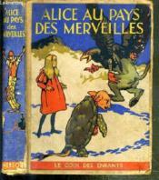 Alice Au Pays Des Merveilles - Couverture - Format classique