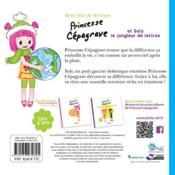 Princesse Cépagrave et Soly le jongleur de lettres - 4ème de couverture - Format classique
