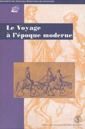 Voyage a l epoque moderne. bulletin de l ahmuf 27 - Couverture - Format classique