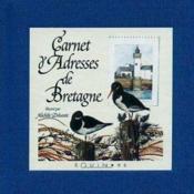 Carnet d'adresses de bretagne grand format - Couverture - Format classique