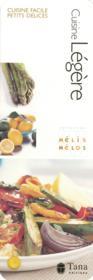 Cuisine Legere - Couverture - Format classique
