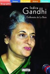 Indira Gandhi - Couverture - Format classique