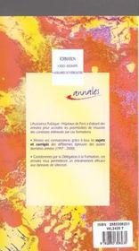 Formation Aides Soignants Auxiliaires De Puericulture Sujets Et Corriges 4 Annees D Epreuves 1997-20 - 4ème de couverture - Format classique