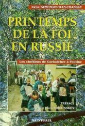 Printemps De La Foi En Russie - Couverture - Format classique