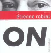 Etienne Robial - Couverture - Format classique