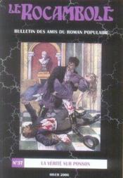 Revue Rocambole N.37 ; La Vérité Sur Ponson - Couverture - Format classique