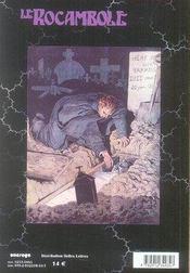 Revue Rocambole N.37 ; La Vérité Sur Ponson - 4ème de couverture - Format classique