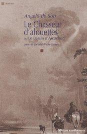 Le chasseur d'alouettes ; ou le bassin d'Arcachon - Couverture - Format classique