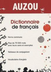 Dictionnaire de français - Couverture - Format classique