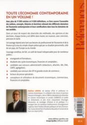 Le grand livre de l'économie contemporaine et des principaux faits de sociétés - 4ème de couverture - Format classique