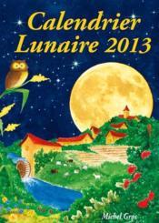 Calendrier lunaire (édition 2013) - Couverture - Format classique
