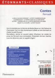 Contes - 4ème de couverture - Format classique