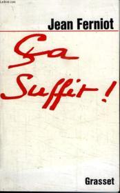 Ca Suffit! - Couverture - Format classique