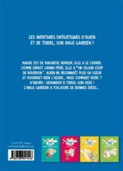 Tombé du ciel T.5 ; un vilain coup de bourdon - 4ème de couverture - Format classique