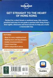 Hong Kong (7e édition) - 4ème de couverture - Format classique
