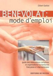 Benevolat Mode D'Emploi - Intérieur - Format classique