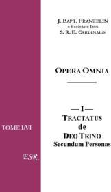 Opera omnia de franzelin - Couverture - Format classique