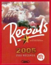 Records ; 2500 Records - Couverture - Format classique