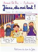 Jesus, dis-moi tout ! tome 2 - Couverture - Format classique