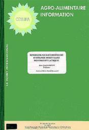 Sensibilite aux bacteriophages et biologie moleculaire des ferments lactiques agro alimentaire infor - Couverture - Format classique