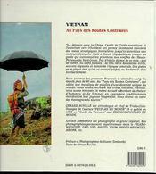 Vietnam ; au pays des routes contraires - 4ème de couverture - Format classique